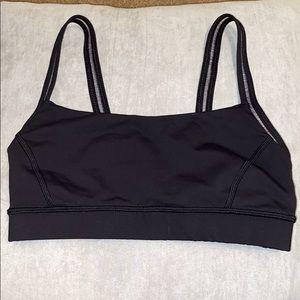 Lululemon black sports bra